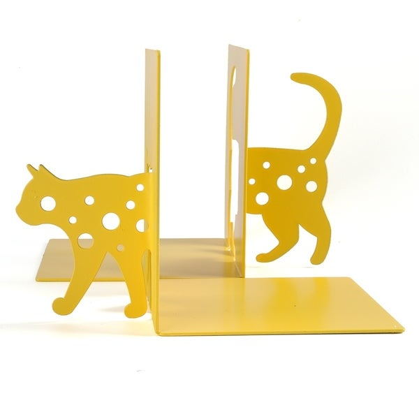 Animal Silhouette Metal Bookends