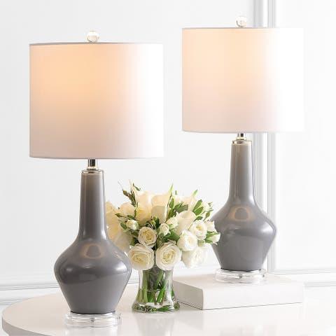 """Safavieh Lighting 24"""" Velor Table Lamp"""