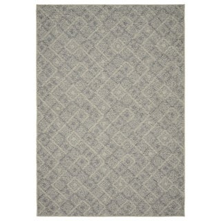 Garland Rug Classic Berber 7 ft. 6 in x 9 ft. 3 in. Area Rug Earth Tone