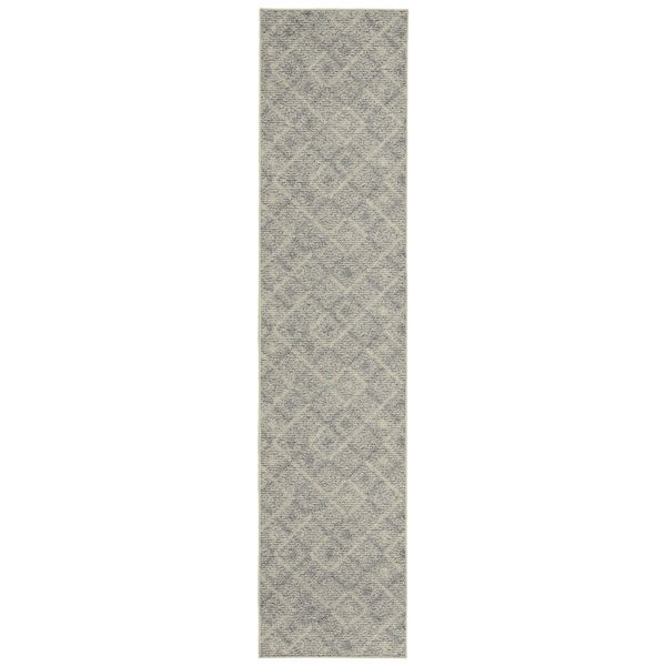 Garland Rug Classic Berber 2 ft. x 8 ft. Area Rug Earth Tone