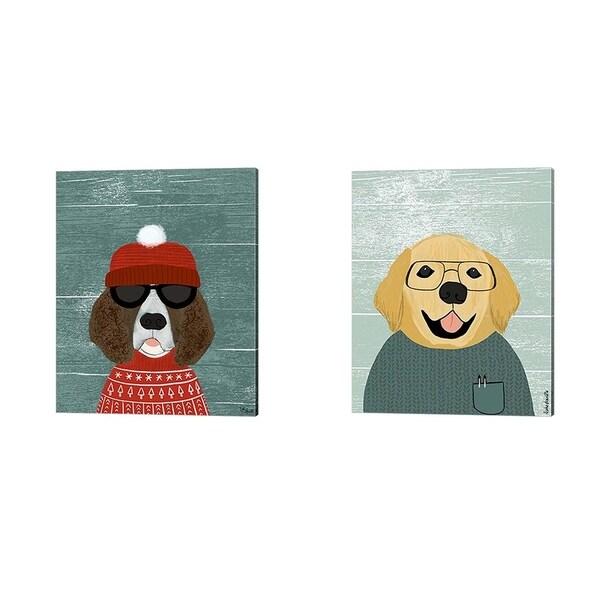 Katie Doucette 'Spaniel & Retriever' Canvas Art (Set of 2)