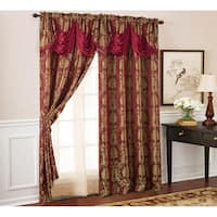 Buy Red, Damask Curtains & Drapes Online at Overstock | Our Best Window  Treatments Deals