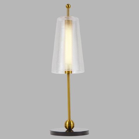 VONN Lighting Toscana VAT6101AB 20-inch Integrated LED Table Lamp