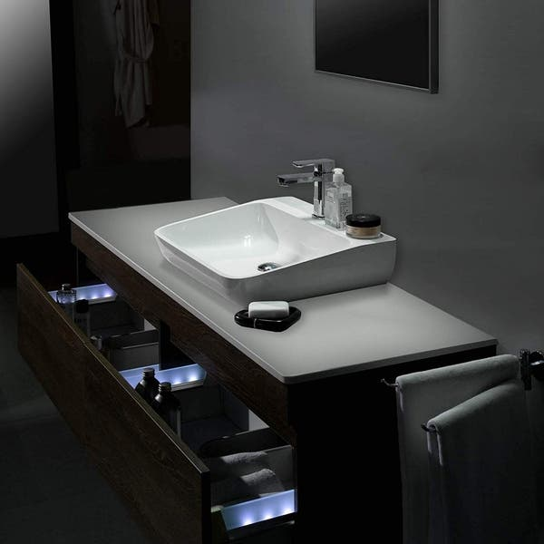 Dyconn Faucet Bsy80 White Solid Surface Above Counter Bathroom Vanity Vessel Sink Overstock 29780524