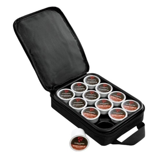 OXX Black Plastic K-Cup Carrying Case