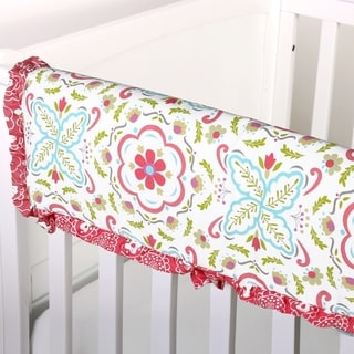 The Peanutshell Mila Crib Rail Guard