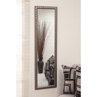 Silver Orchid Cahill Glam Over the Door Mirror