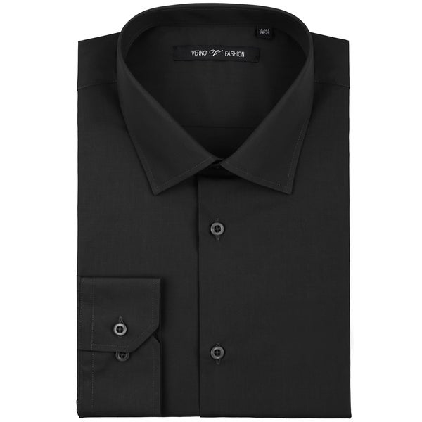 Zenbriele Men's Regular Fit Long Sleeve Solid Dress Shirt. Opens flyout.