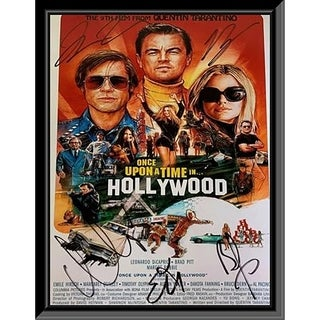 Once Upon A Time In Hollywood Framed Movie Poster
