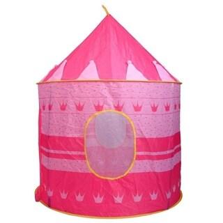 Portable Folding Blue Play Tent Children Kids Castle Cubby Play House 2 Colors