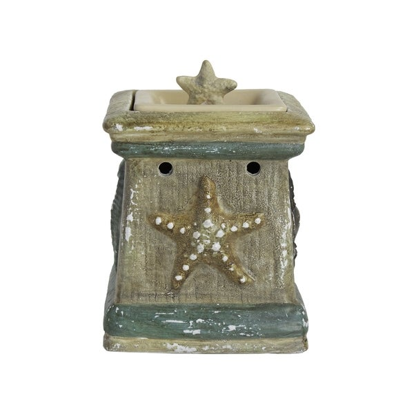 Scentsationals Home Indoor Decorative By The Sea Full Size Wax Warmer