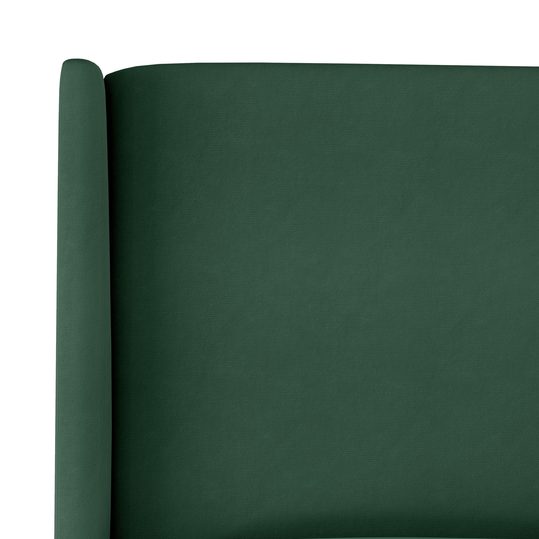Skyline Furniture Wingback Headboard In Mystere Jade Overstock 29794416