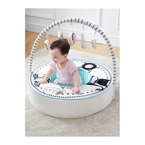 Baby Den with Activity Arch - Multi-Color