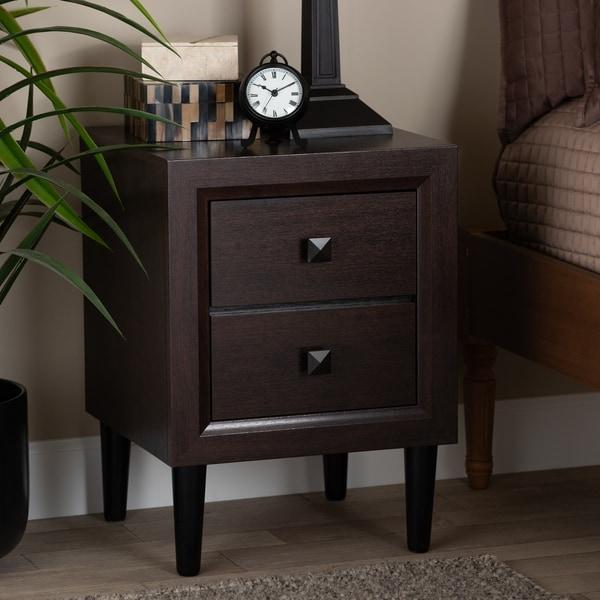 Copper Grove Zimba Mid-century Modern 2-drawer Nightstand