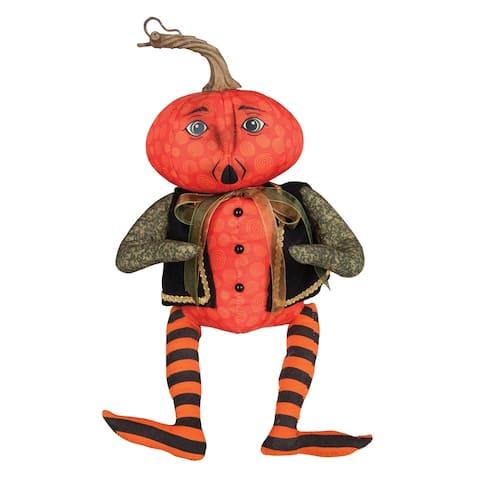 Pete Pumpkin Head Joe Spencer Gathered Traditions Art Doll