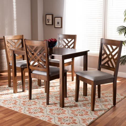Copper Grove Houten 5-piece Modern Upholstered Dining Set