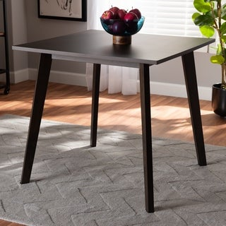 Britte Mid-Century Modern Wood Dining Table