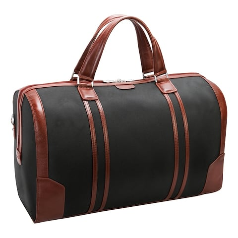 """McKlein USA Kinzie 20"""" Nylon, Two-Tone, Tablet Carry-All Duffel"""