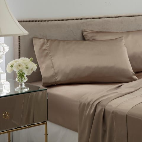 Porch & Den Mayway Satin Bed Sheet Set