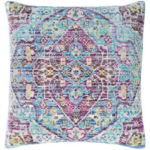 Govan Vibrant Boho Throw Pillow Cover