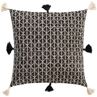 Gene Bohemian Cotton Throw Pillow Cover