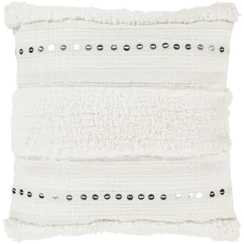 Hawi Hand Woven Bohemian Throw Pillow Cover