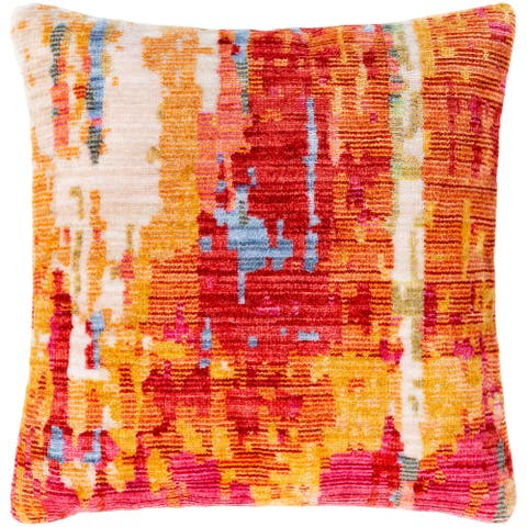 Govan Abstract Throw Pillow Cover
