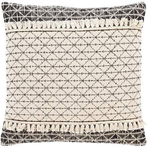 Jena Bohemian Cotton Throw Pillow Cover
