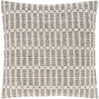 Loma Bohemian Woven 20-inch Poly or Feather Down Throw Pillow