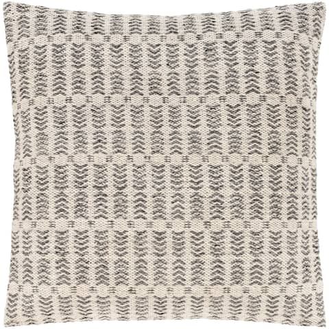 Loma Bohemian Woven Throw Pillow Cover