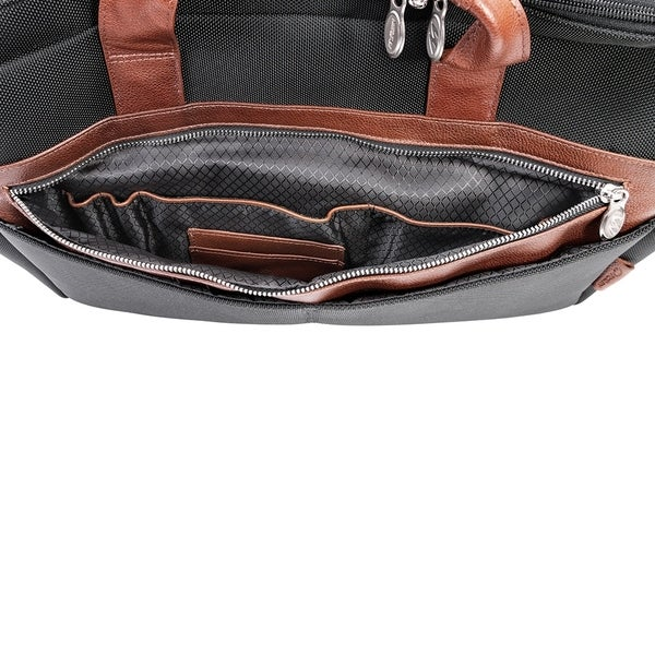 McKlein USA Siamod Ignoto 15.6 Leather Large Ladies Laptop Briefcase