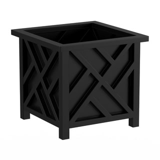 Link to Square Planter Box by Pure Garden Similar Items in Planters, Hangers & Stands