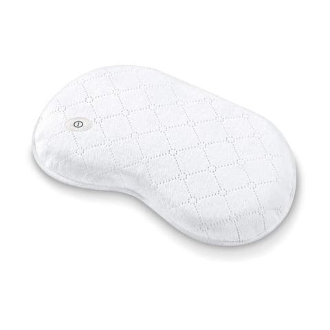 Beurer Soft Waterproof Bath and Spa Massage Pillow with Vibration for Relaxation, Neck Pain Relief, MG13