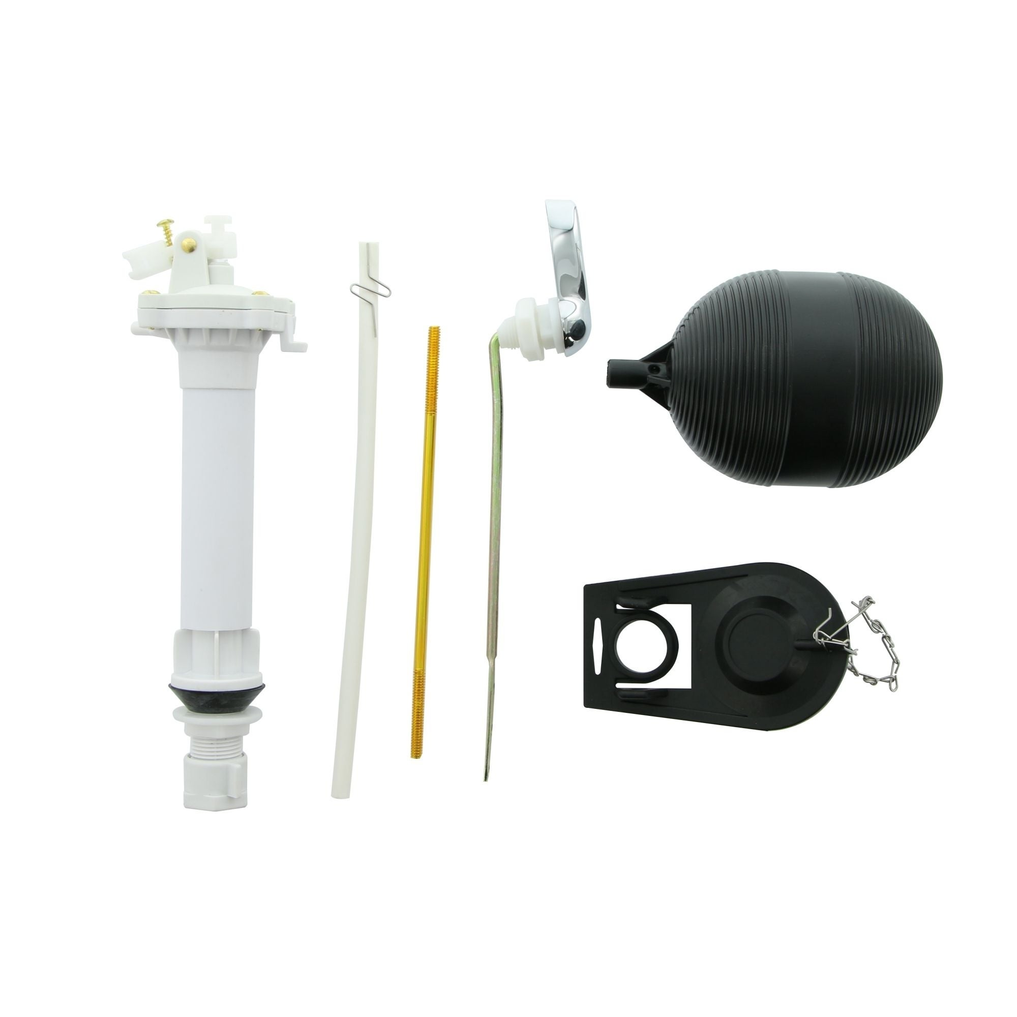 Shop Aquaplumb C2677 Toilet Rebuild Kit For A Complete Toilet Rebuild Includes All Necessary Repair Parts For Most Toilets Overstock 29797286