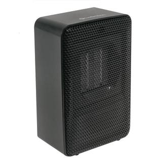 """Comfort Zone 200-Watt 7"""" Fan Forced Personal Ceramic Heater, Black"""