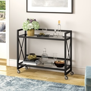 Link to Silver Orchid Flink Blackened Bronze Bar Cart Similar Items in Home Bars