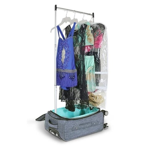 Mavii Costume Rack Carry-On Luggage with Spinner Wheels