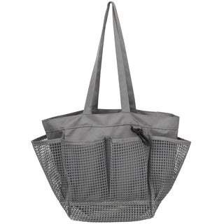 Link to Utopia Alley Mesh Portable Shower Caddy, Quick Dry Shower Tote Bag, Bathroom Organizer Bag Similar Items in Shower & Bath Caddies