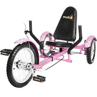 Mobo Triton The Ultimate Youth Three Wheeled Pink Cruiser|https://ak1.ostkcdn.com/images/products/2980095/P11132470.jpg?impolicy=medium