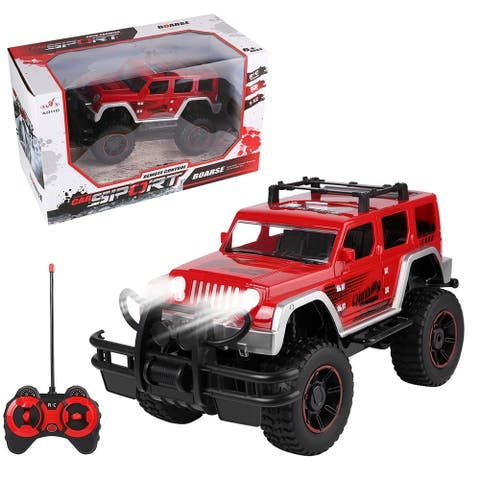 Remote Control Jeep 4x4 with Ramp Hard off Road Scale 1:12