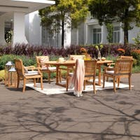 Bar Height Glass Table, Buy Teak Outdoor Dining Sets Online At Overstock Our Best Patio Furniture Deals