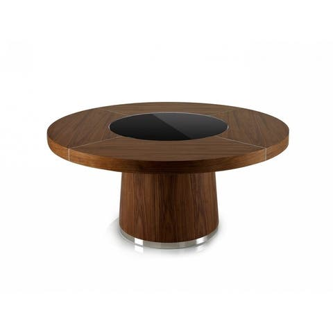 Modrest Houston Round Modern Dining Table
