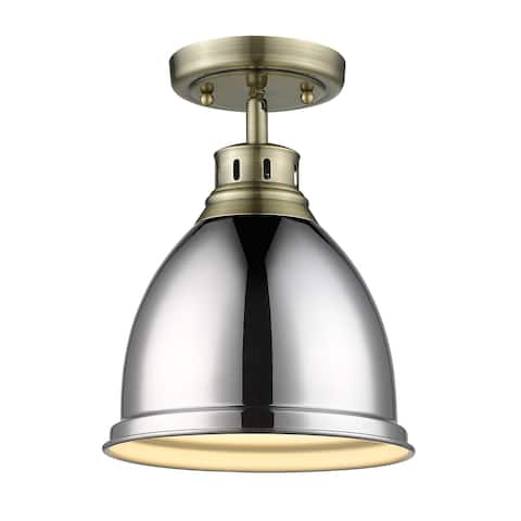 Duncan Flush-mount Light Fixture