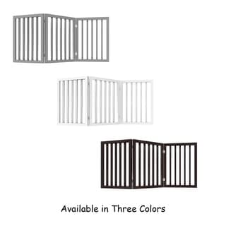 Link to 3 Panel Freestanding Pet Gate by PETMAKER Similar Items in Glasses & Barware