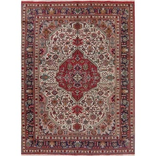 "Tabriz Oriental Traditional Hand Knotted Wool Persian Area Rug - 11'4"" X 8'4"""