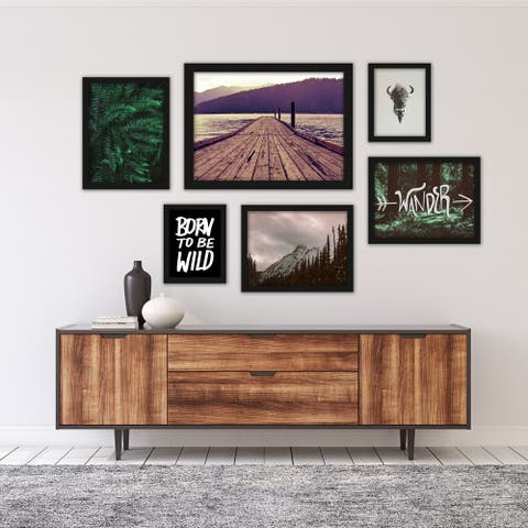 Wanderlust Photography Framed Art Set