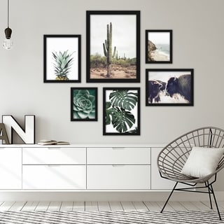 Link to Contemporary Southwest Photography Framed Gallery Wall Set Similar Items in Art Prints