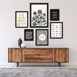 Link to Black & White Modern Framed Art Set Similar Items in Art Prints