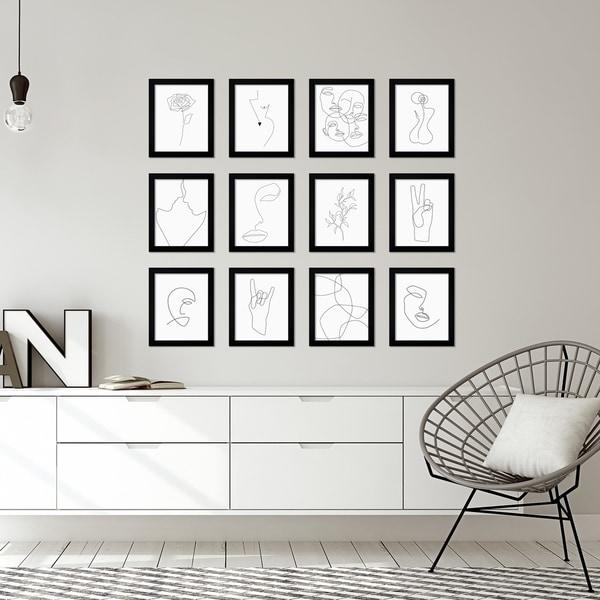 Line Art by Explicit Design Framed Art Set