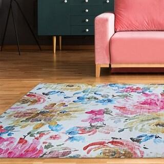 Toulouse Jardin Pink-Multicolor Area Rug